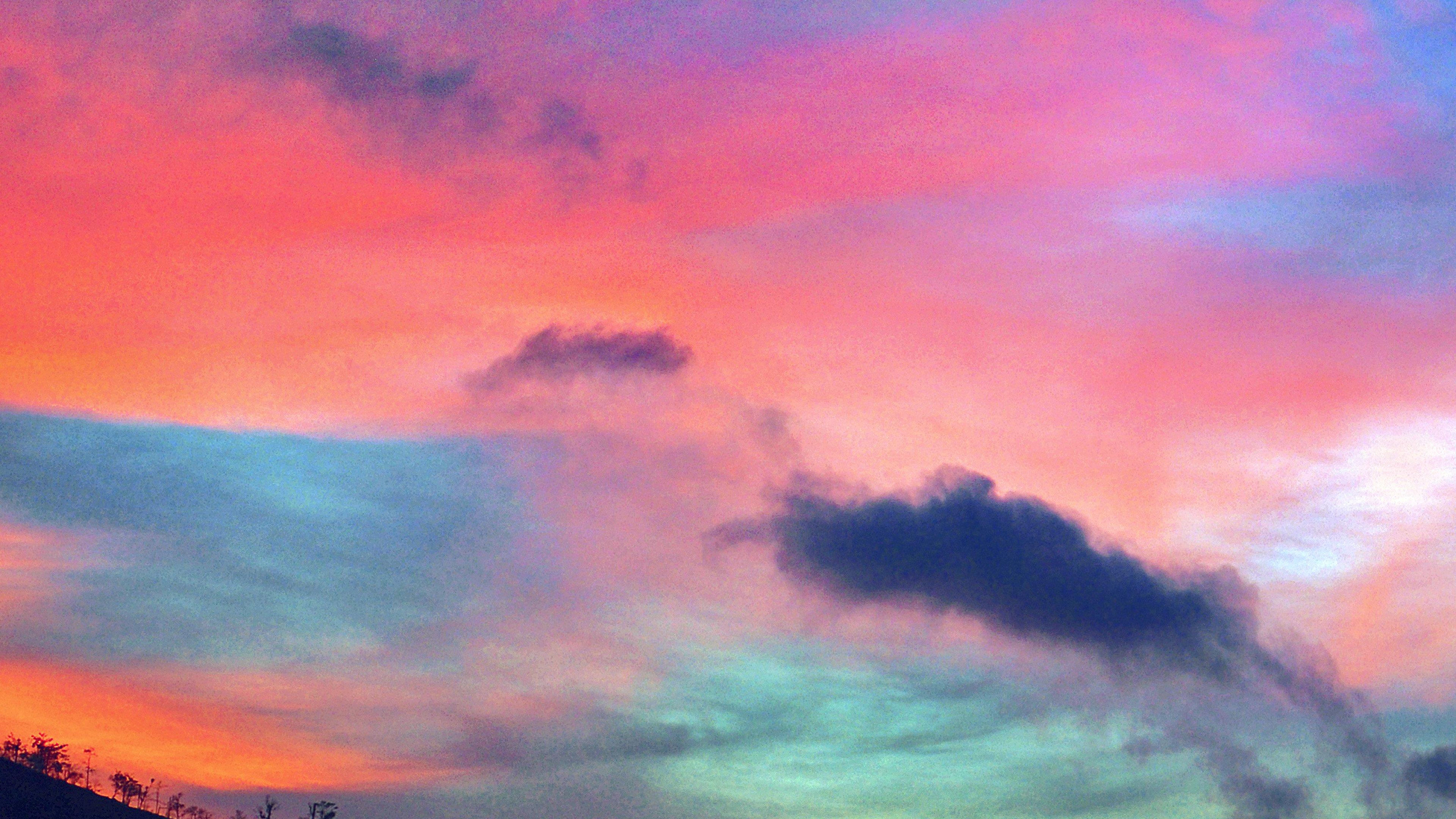 Ảnh bầu trời trống trải rất đẹp