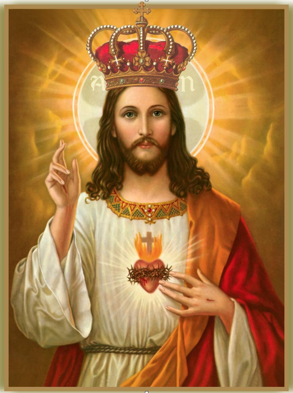 Ảnh chúa jesus đội vương miện