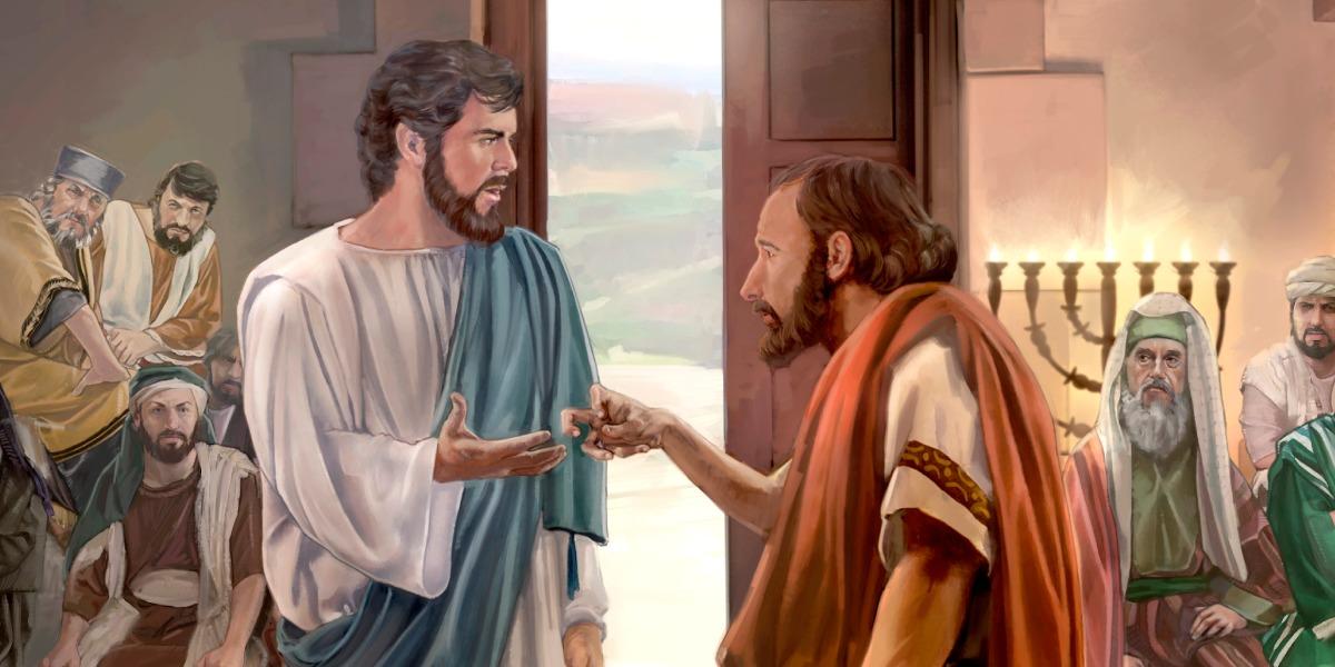 Ảnh chúa jesus với thần dân