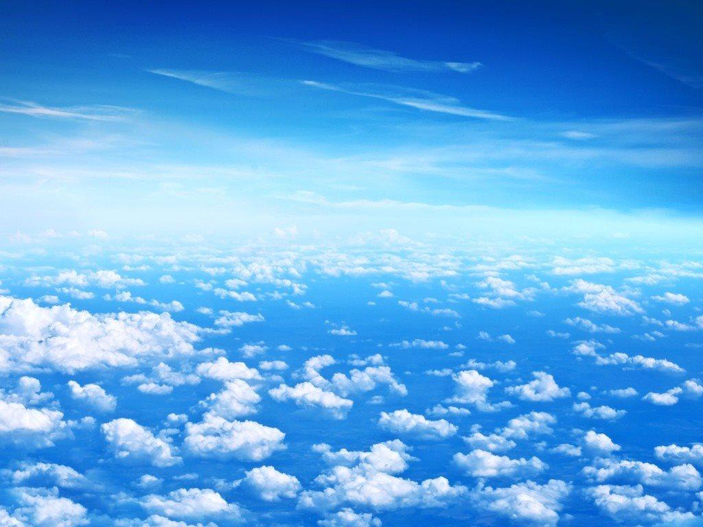Bầu trời rất đẹp trên tầng bình lưu