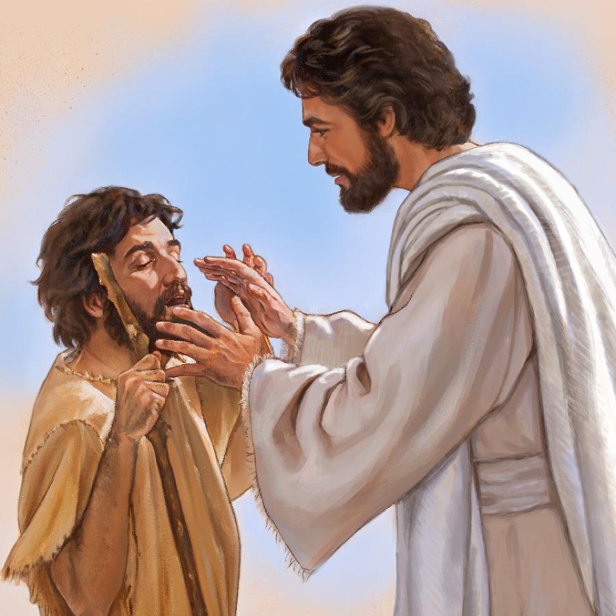 Hình ảnh chúa jesus chữa bệnh