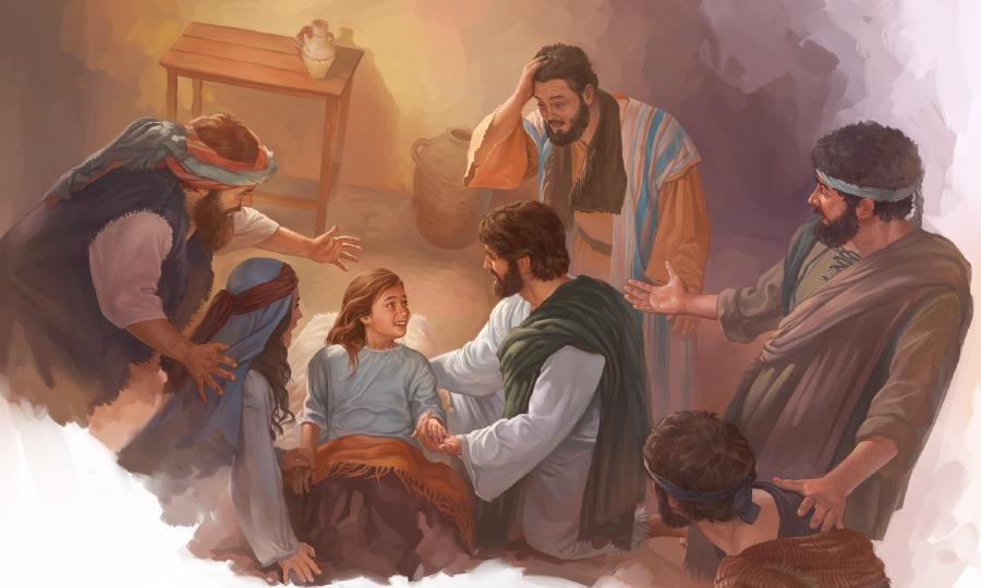 Hình ảnh chúa jesus làm phép cứu người