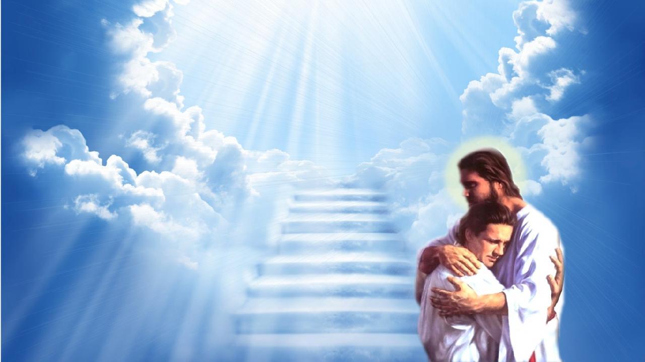 Hình ảnh chúa jesus trên thiên đàng