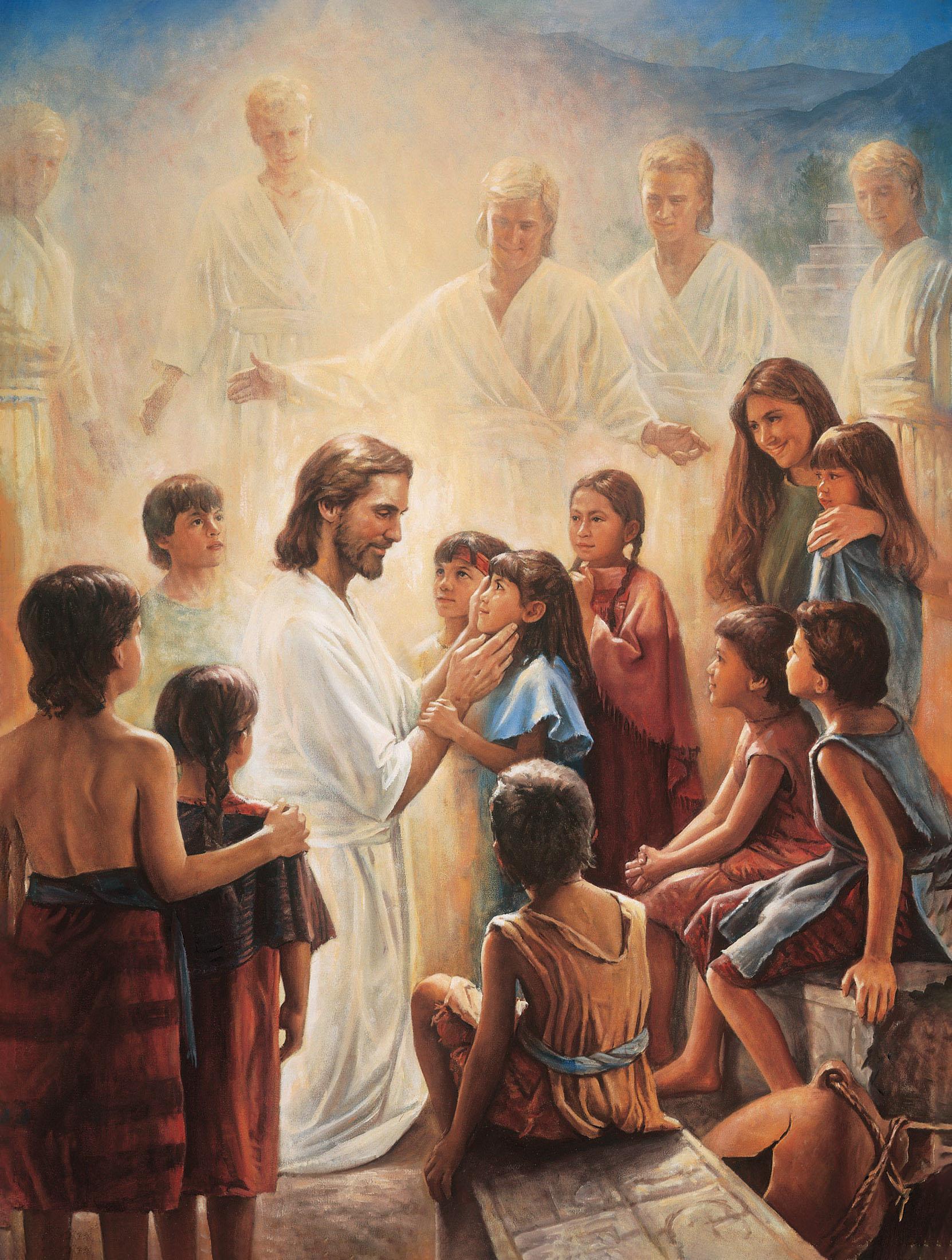 Hình ảnh chúa jesus với người dân