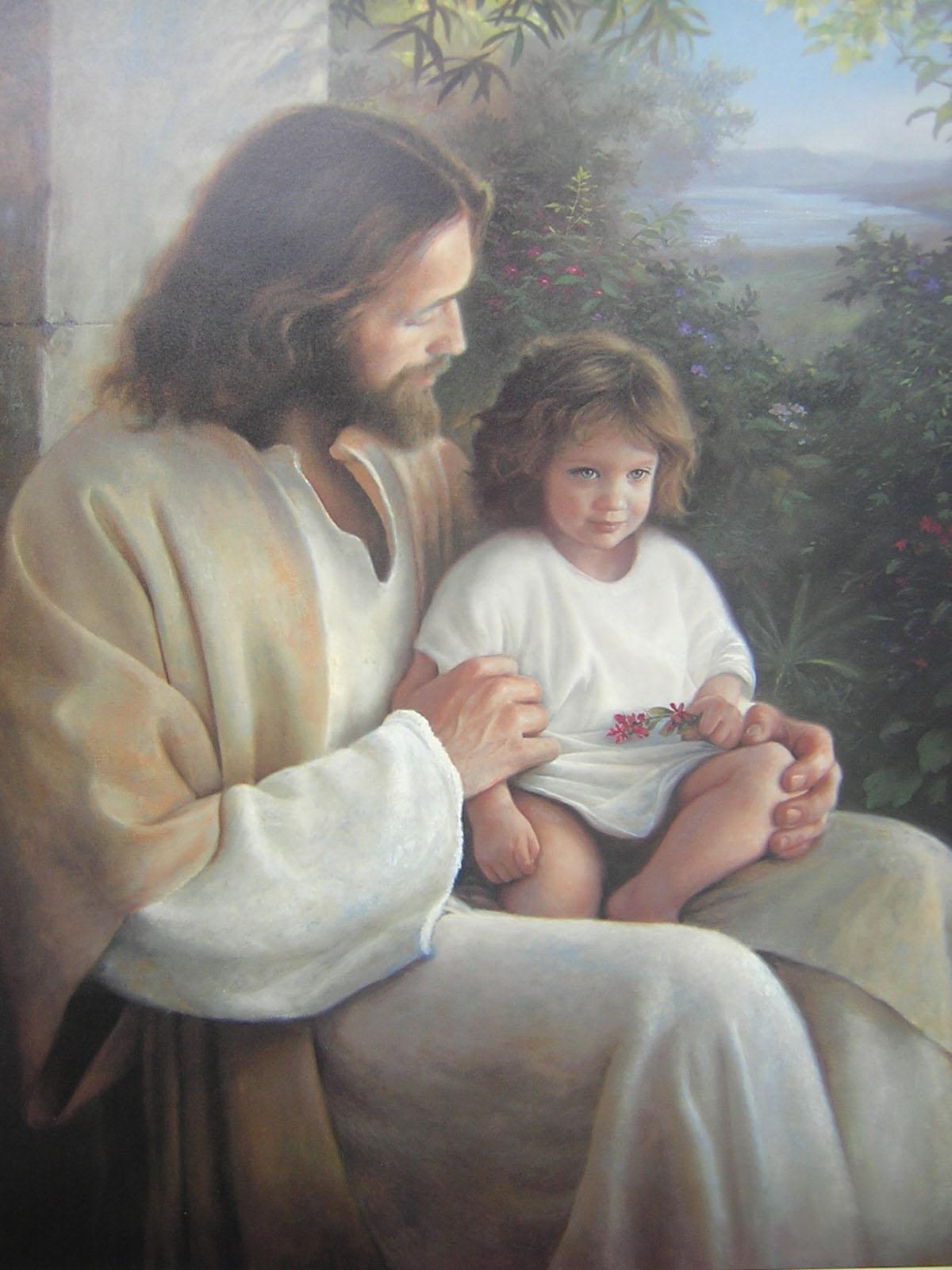 Hình ảnh chúa jesus với trẻ em