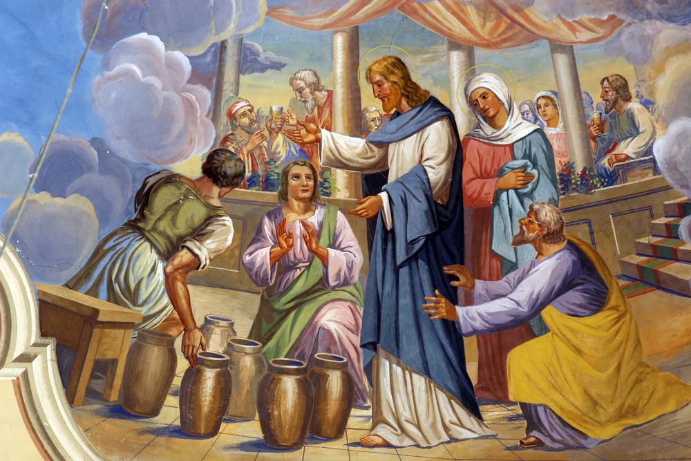 Hình ảnh đức chúa jesus dự tiệc