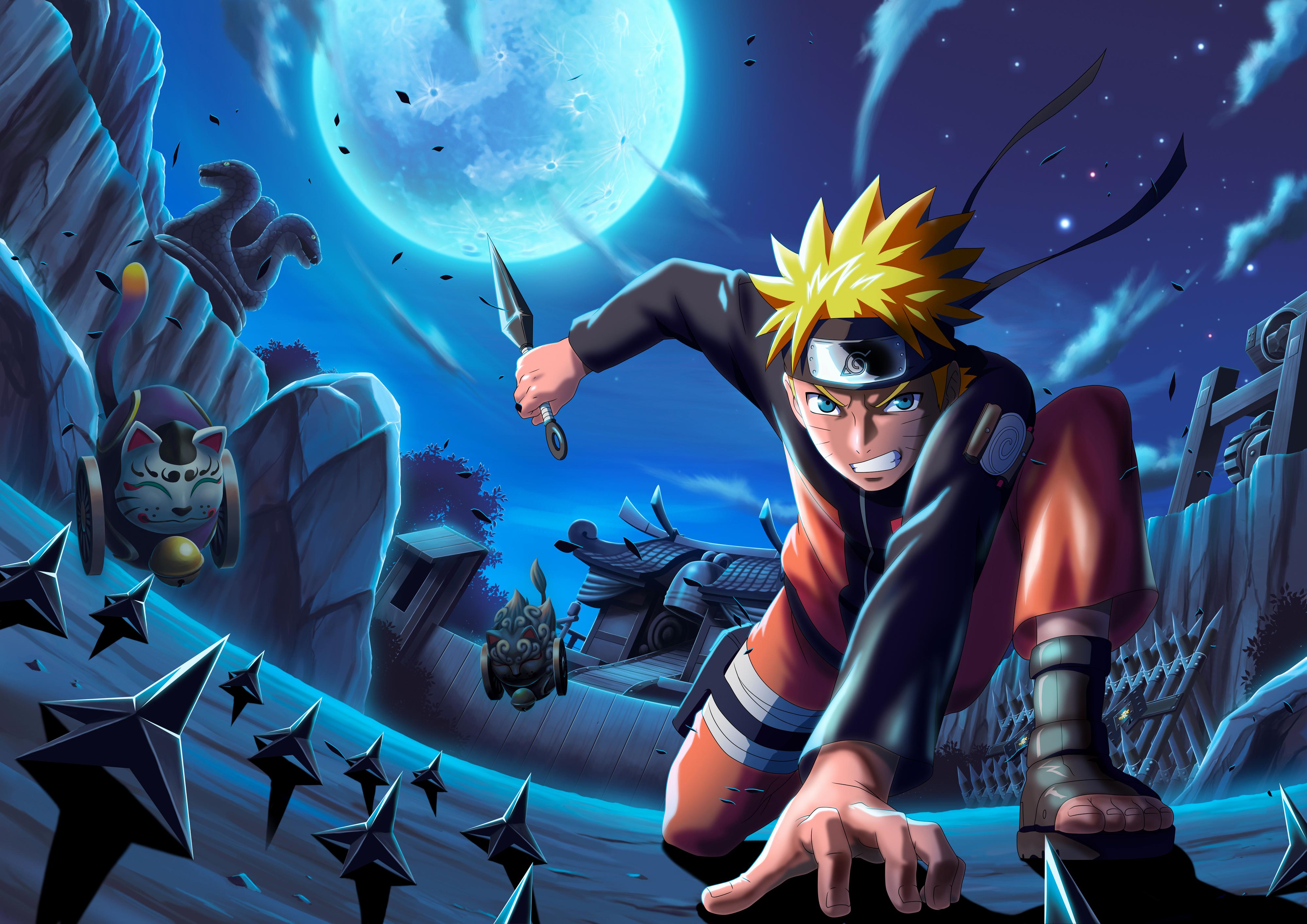 Ảnh Naruto ánh trăng