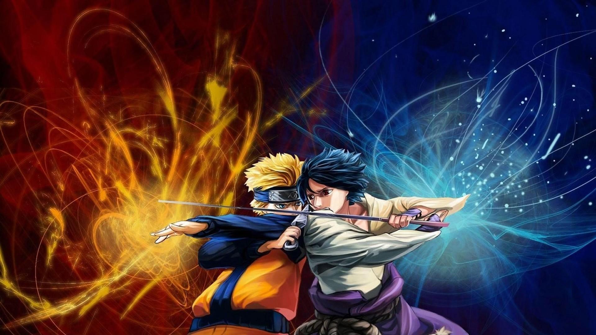 ảnh Naruto đấu Sasuke