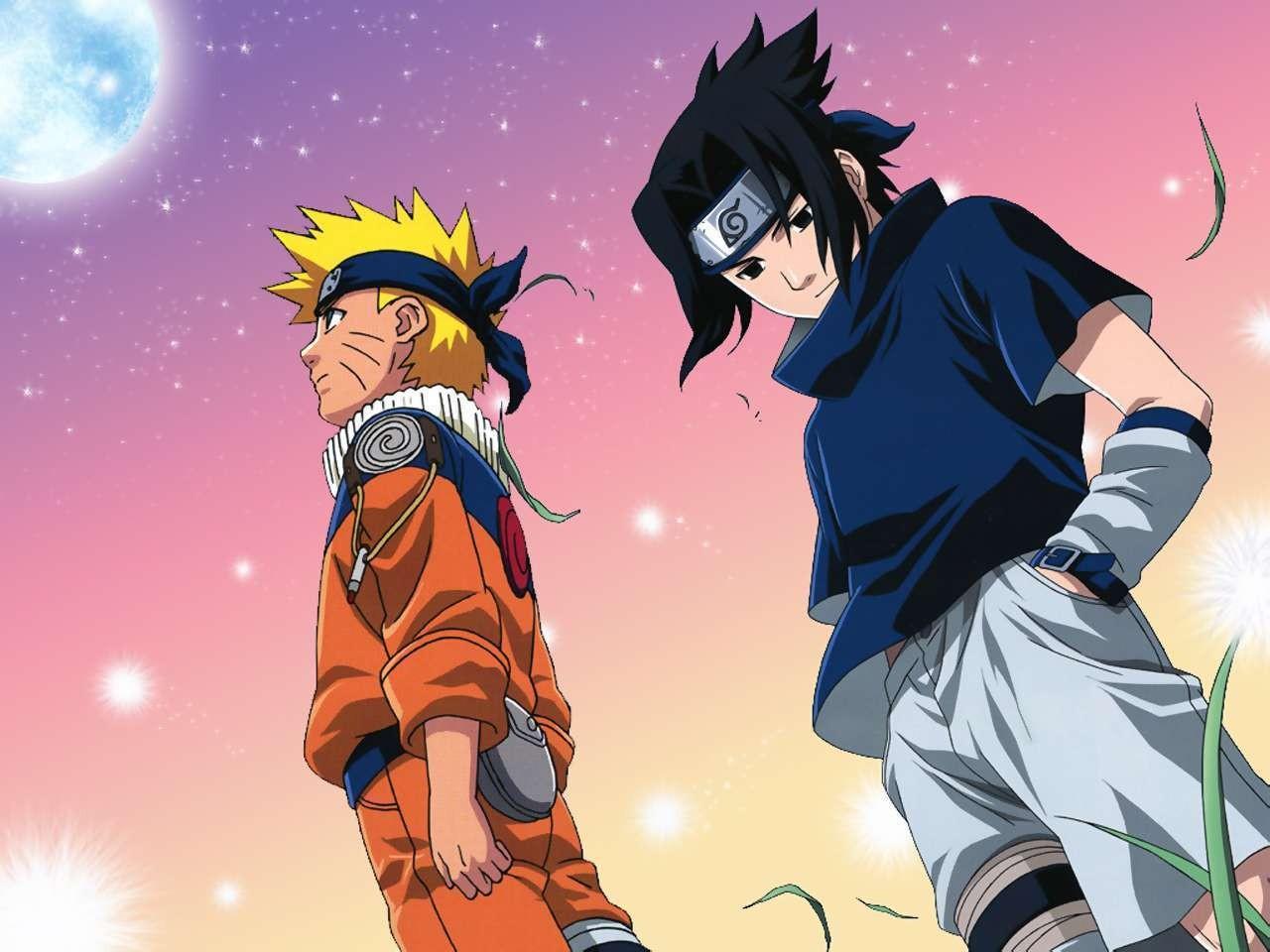 ảnh Naruto Sasuke