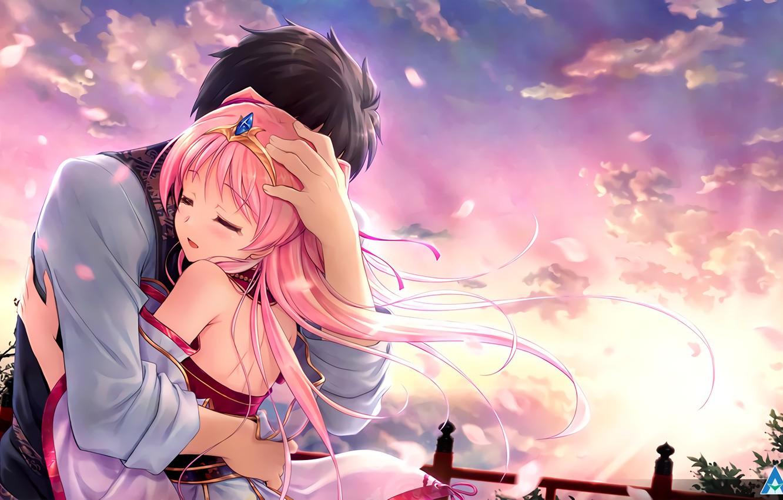 ảnh nền anime tình yêu