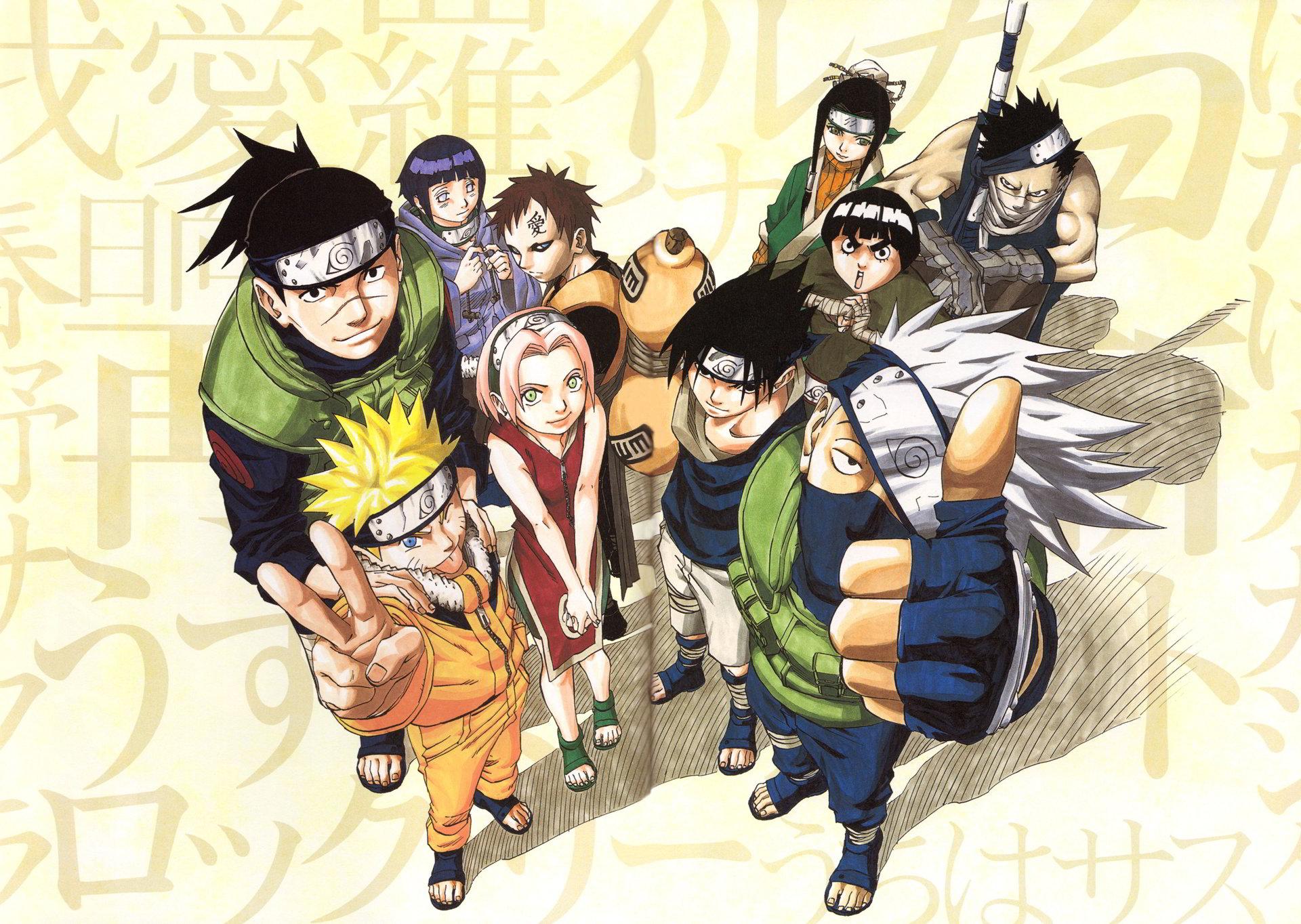 ảnh về các nhân vật Naruto