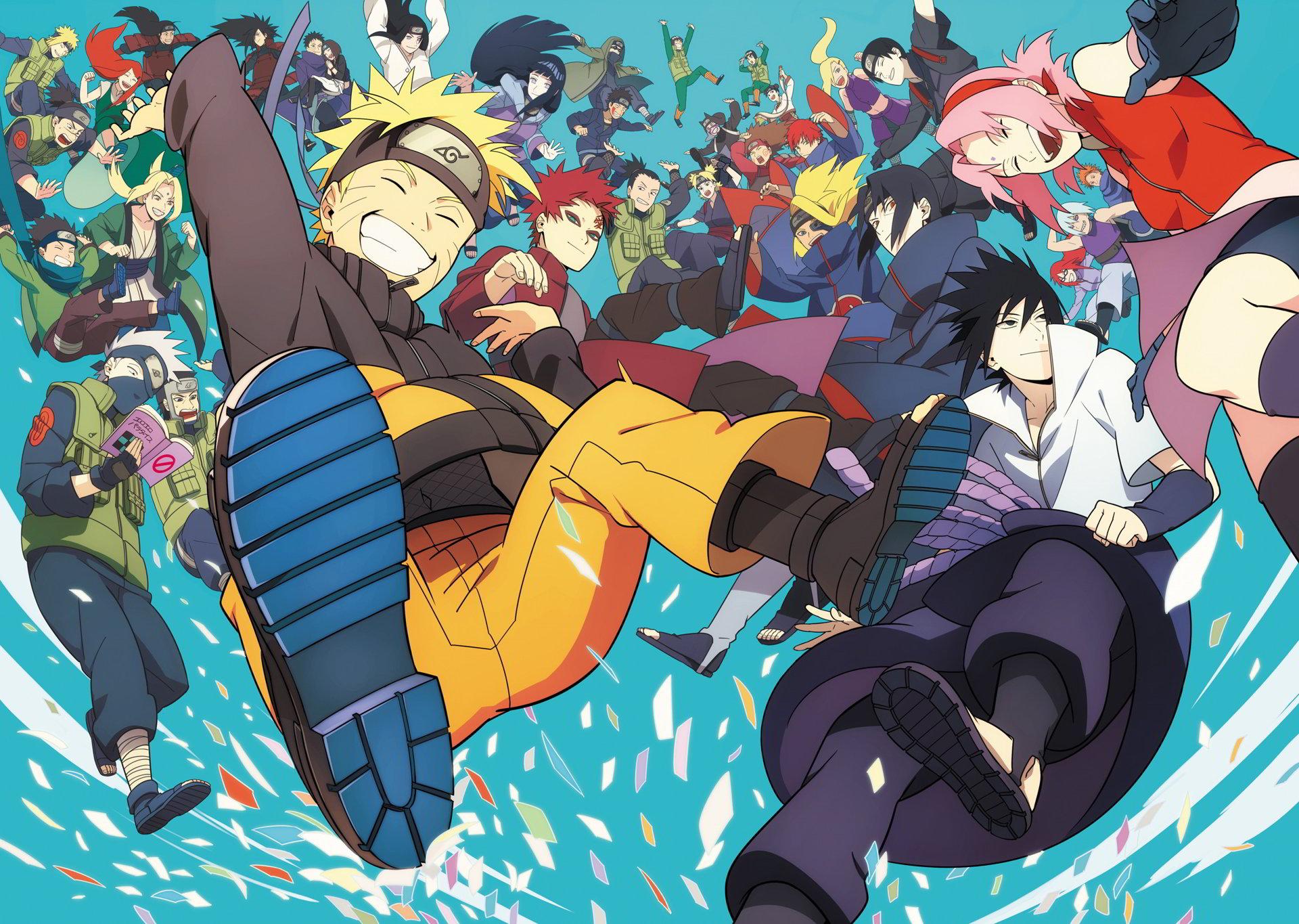 hình ảnh các nhân vật trong Naruto