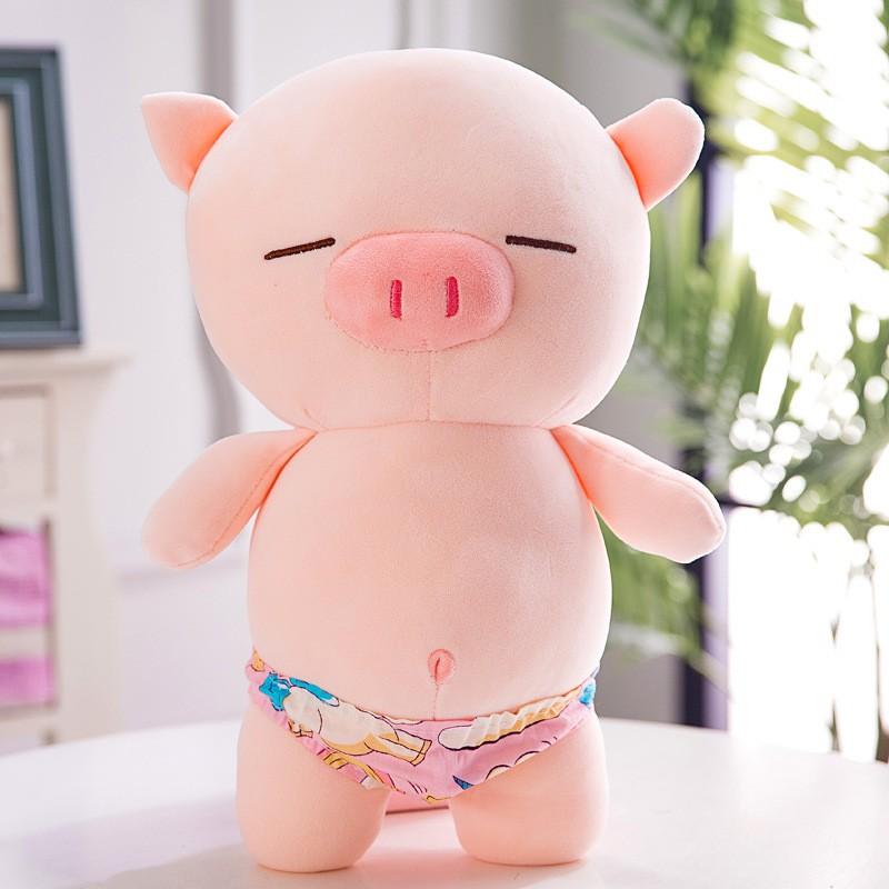 hình ảnh gấu bông heo con dễ thương