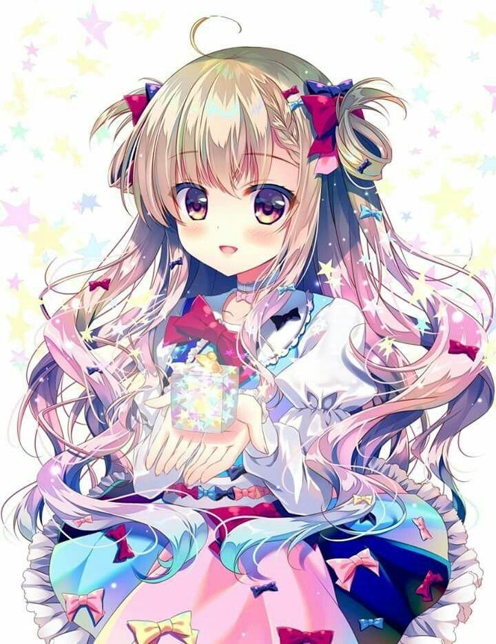 hình anime chibi dễ thương