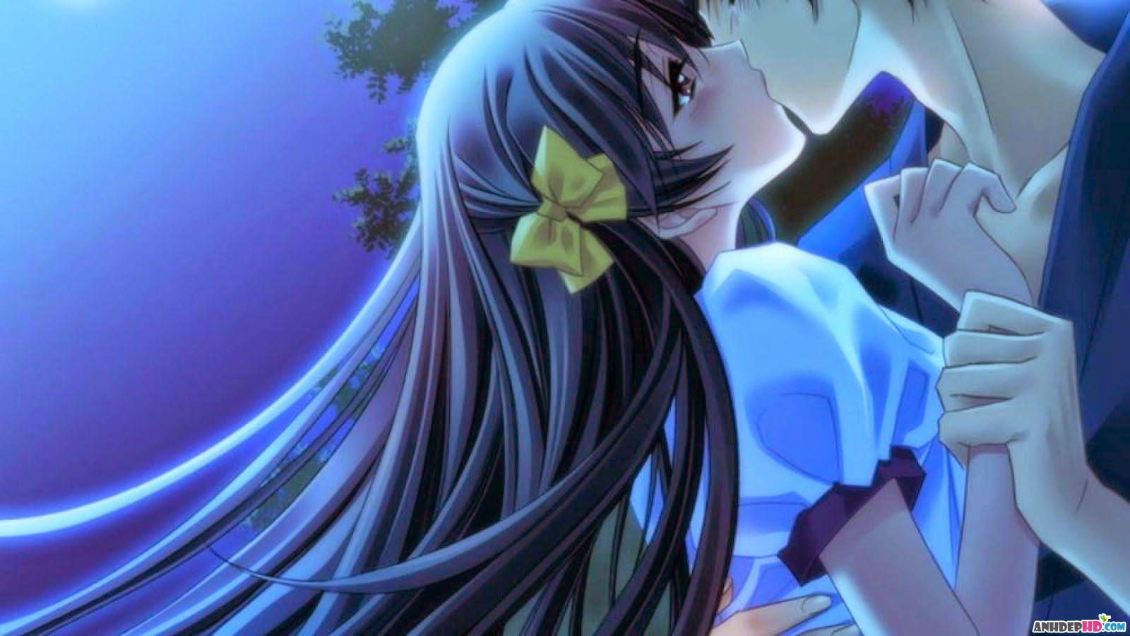 hình nền anime về tình yêu