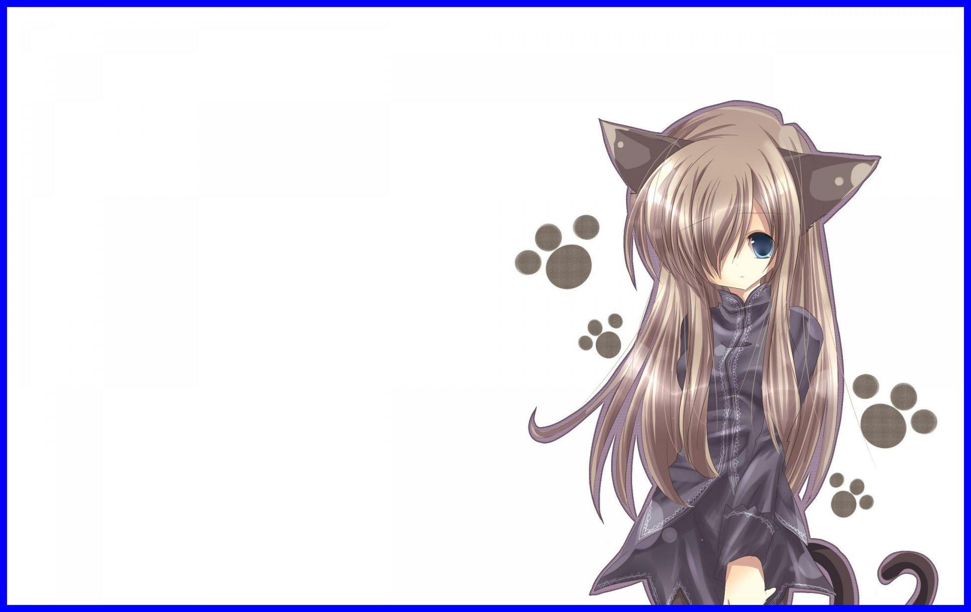 mèo anime chibi