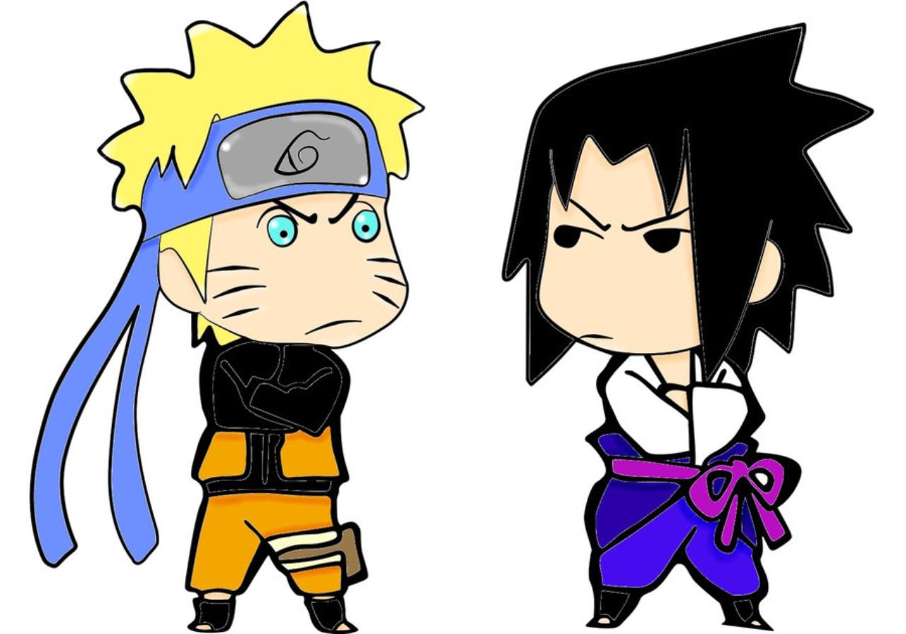 Tranh vè Naruto hài hước