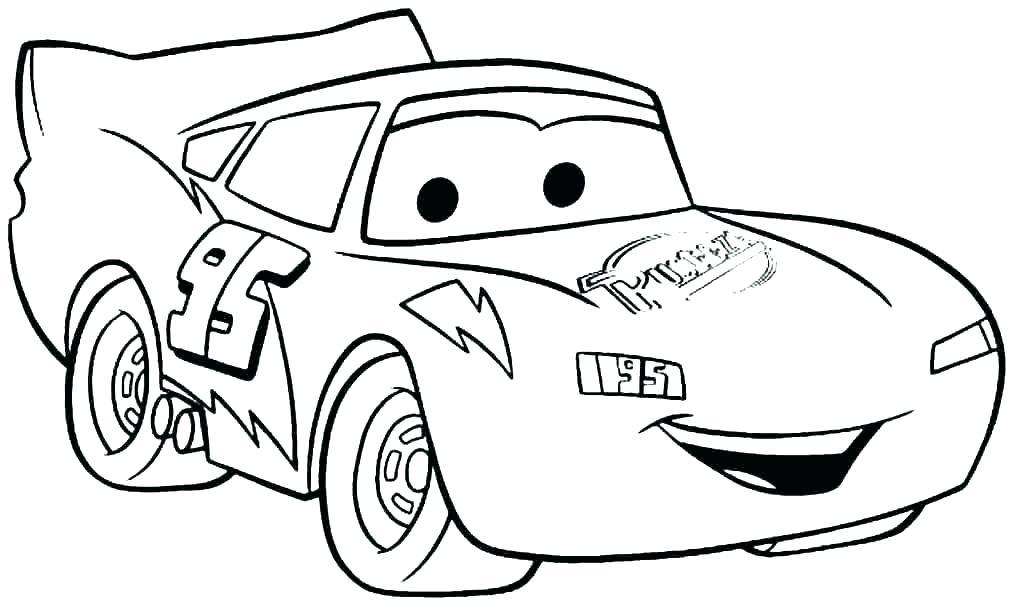 Tranh tô màu Car 95