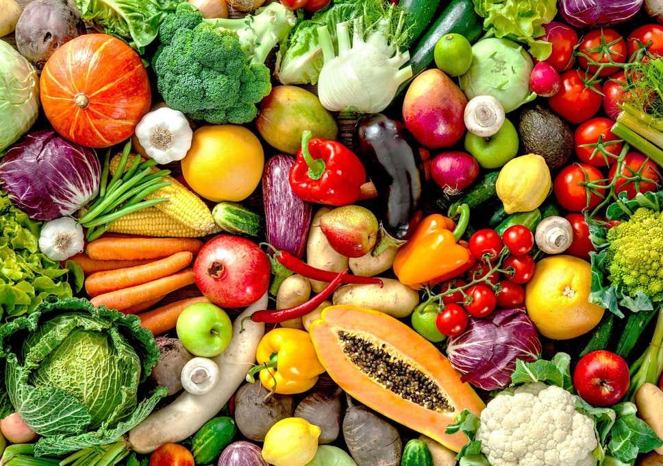 Hình ảnh các loại rau củ quả sạch