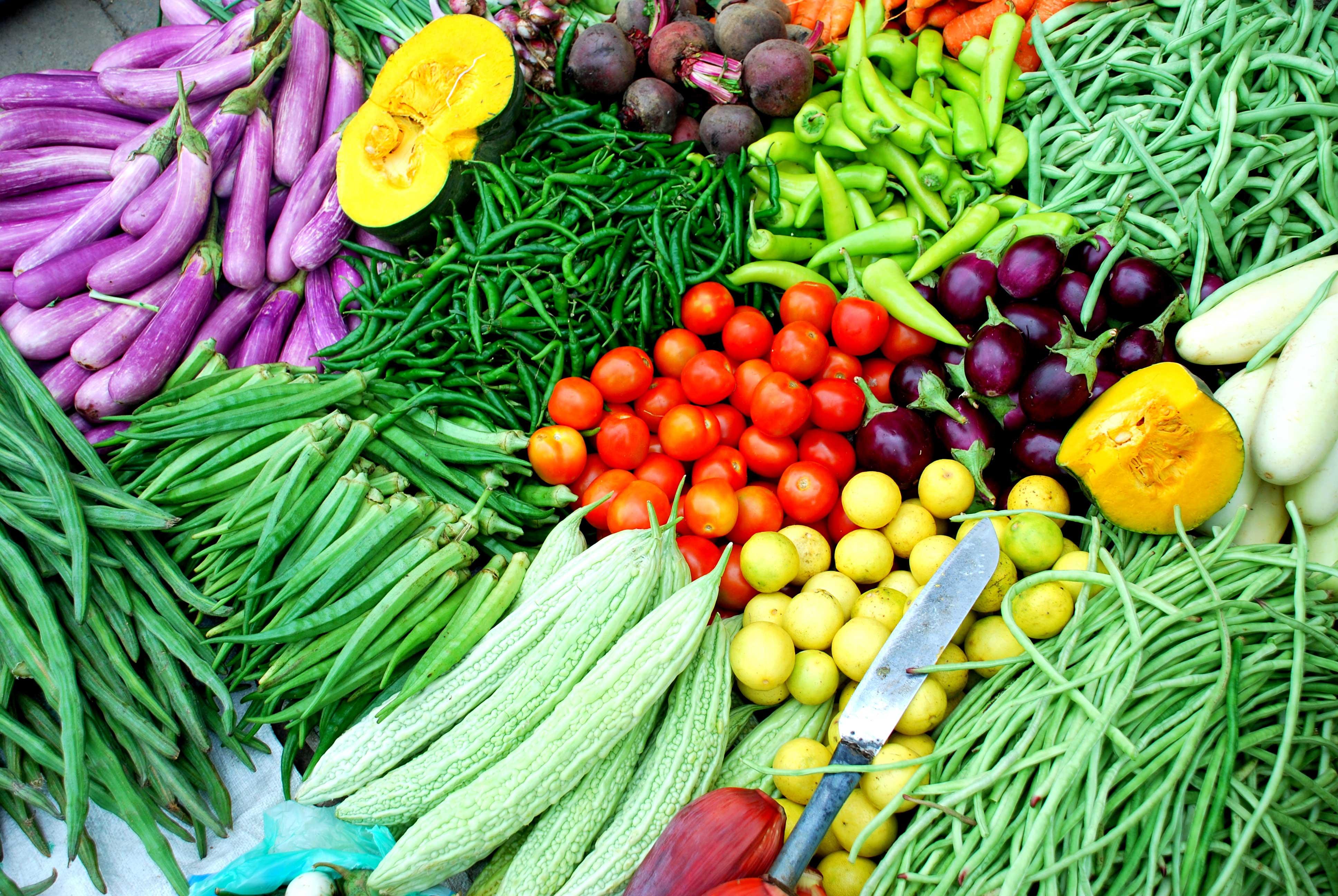 Hình ảnh đẹp các loại rau củ quả