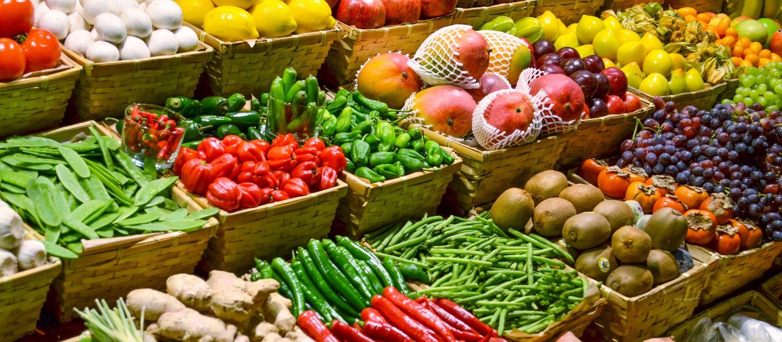 Hình ảnh hàng rau củ quả