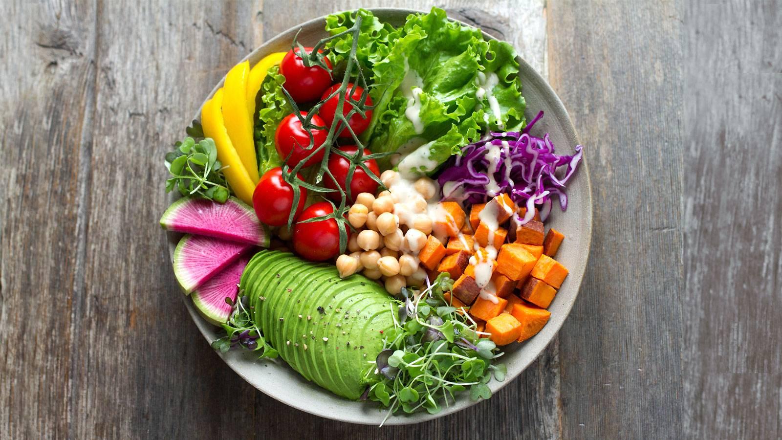 Hình ảnh món ăn từ rau củ quả