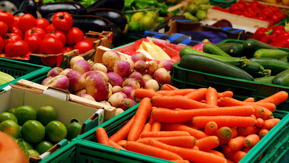 Hình ảnh rau củ quả siêu thị