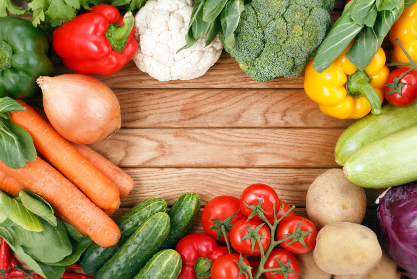 Hình ảnh về các loại rau củ quả