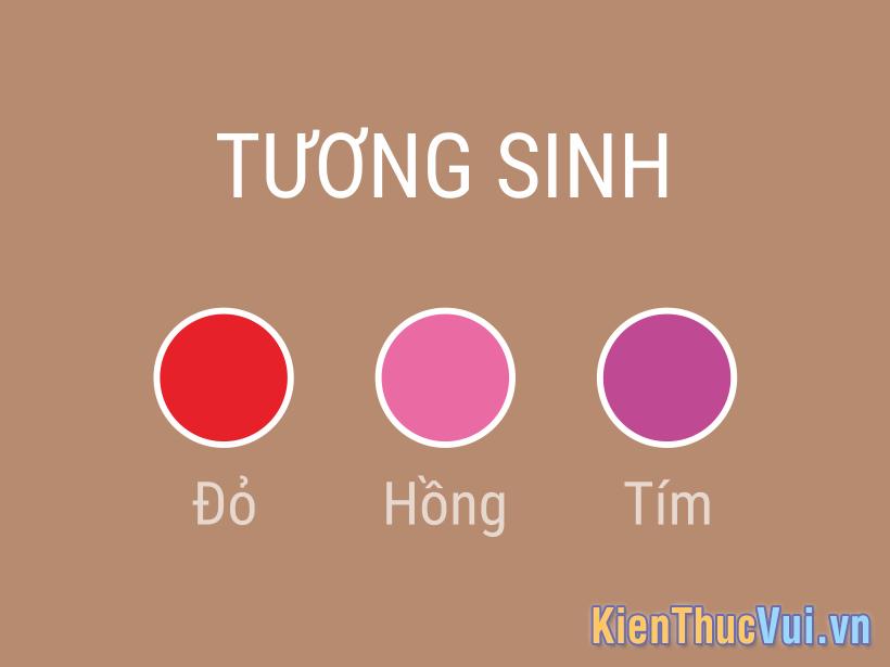 Màu sắc tương sinh mệnh Thổ