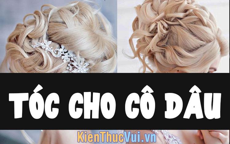 Những mẫu tóc cô dâu, mẫu tóc cưới đẹp nhất