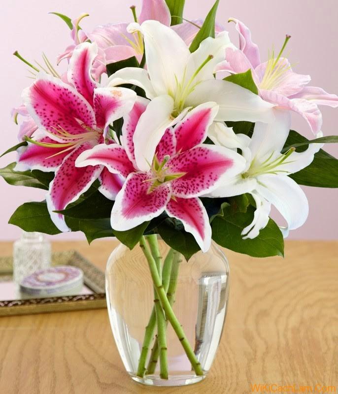 Cách cắm hoa bàn thờ ngày tết hình ảnh đẹp