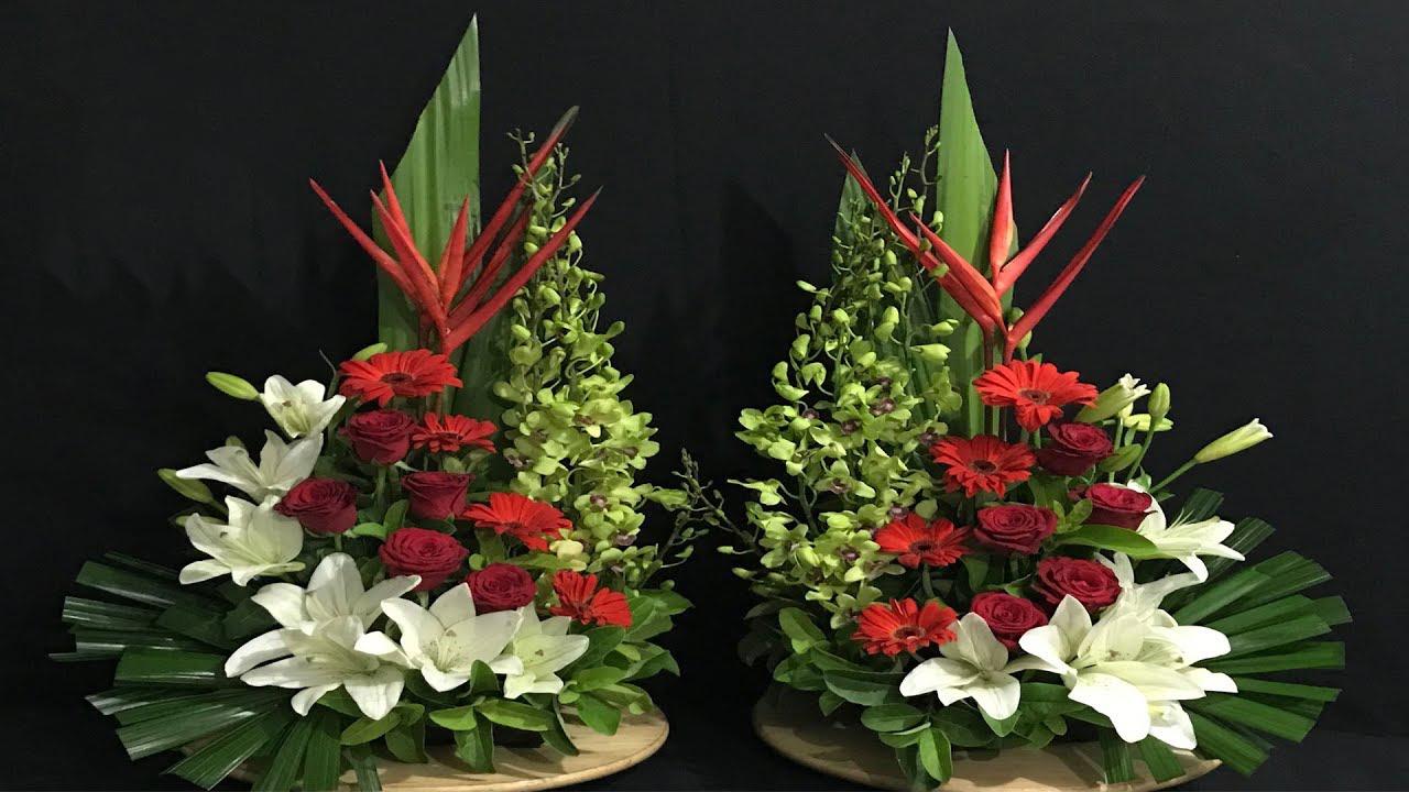 Hình ảnh cắm hoa bàn thờ đẹp nhất