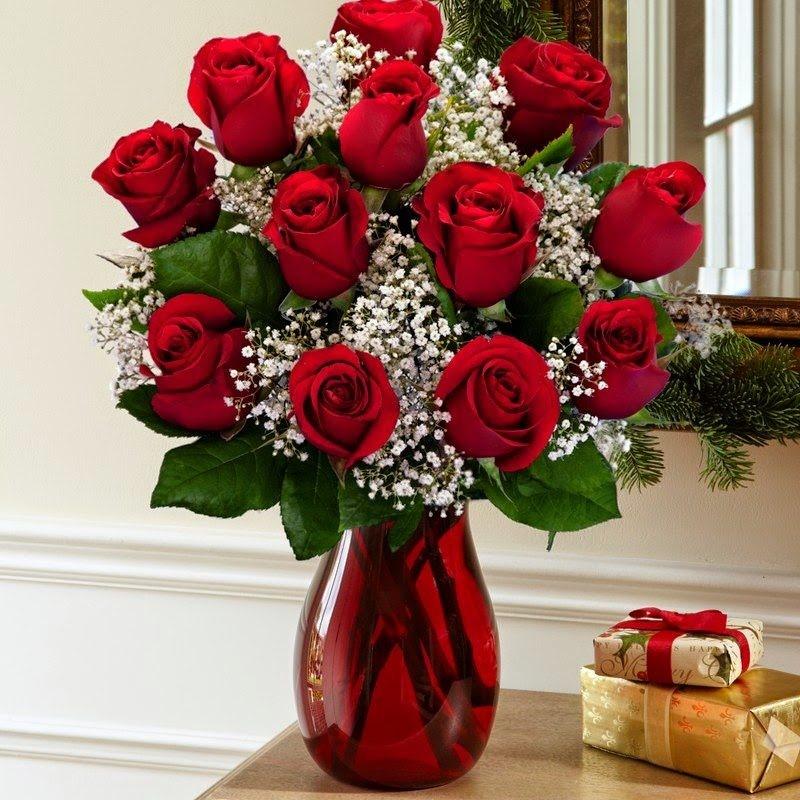 Hình ảnh cắm hoa hồng để bàn thờ đẹp nhất