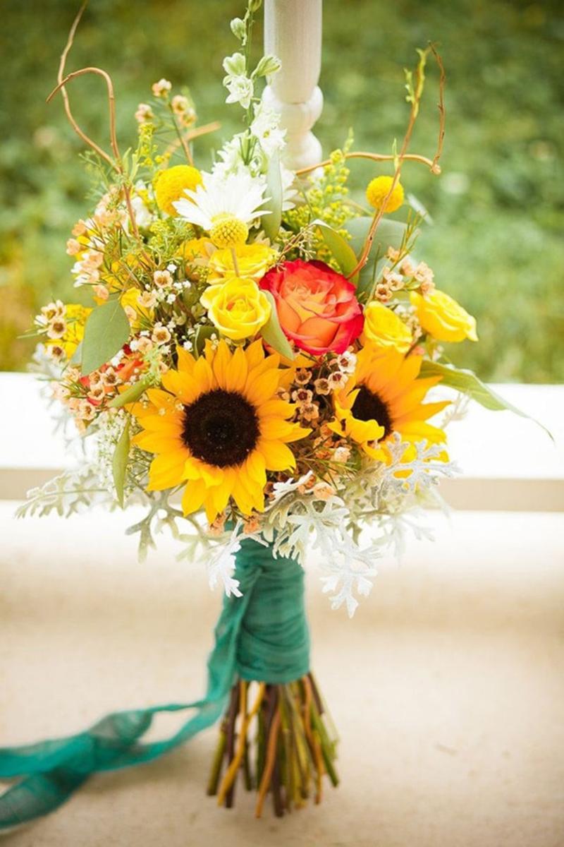 Hoa hướng dương hình ảnh mẫu cắm đẹp nhất