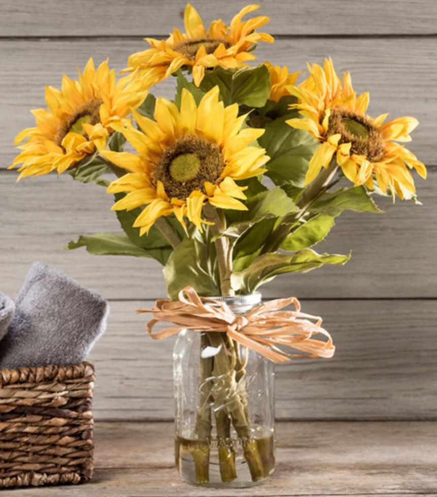 Mẫu cắm hoa hướng dương đẹp và sang trọng nhất