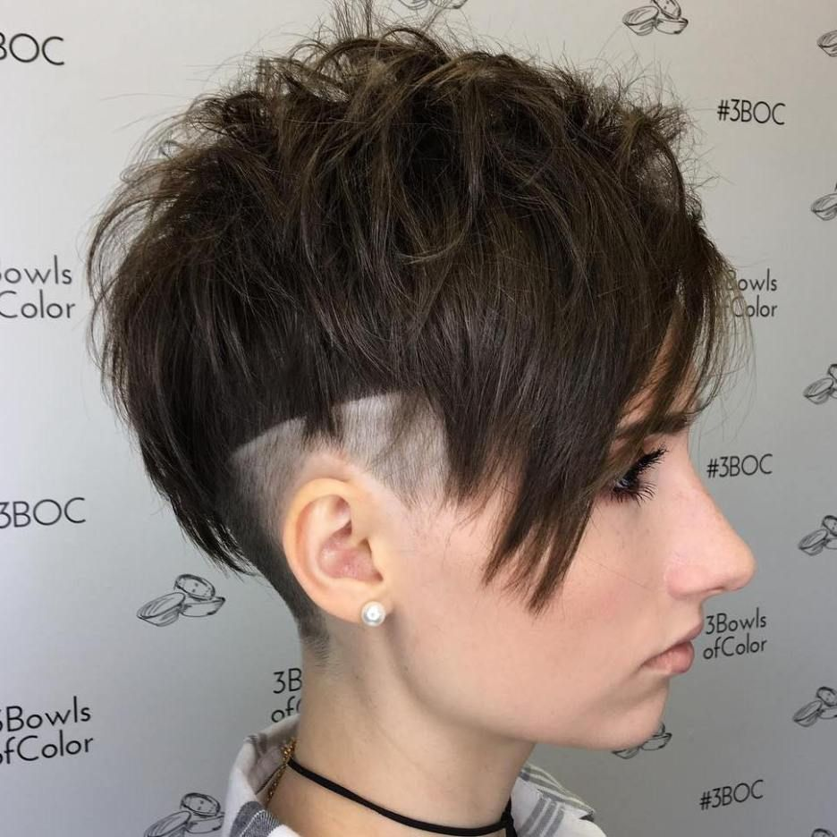 Kiểu tóc undercut cho nữ cực đẹp