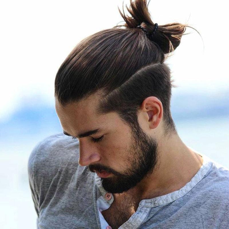 Buộc tóc nam đẹp
