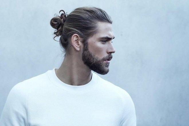 Các kiểu buộc tóc nam đẹp