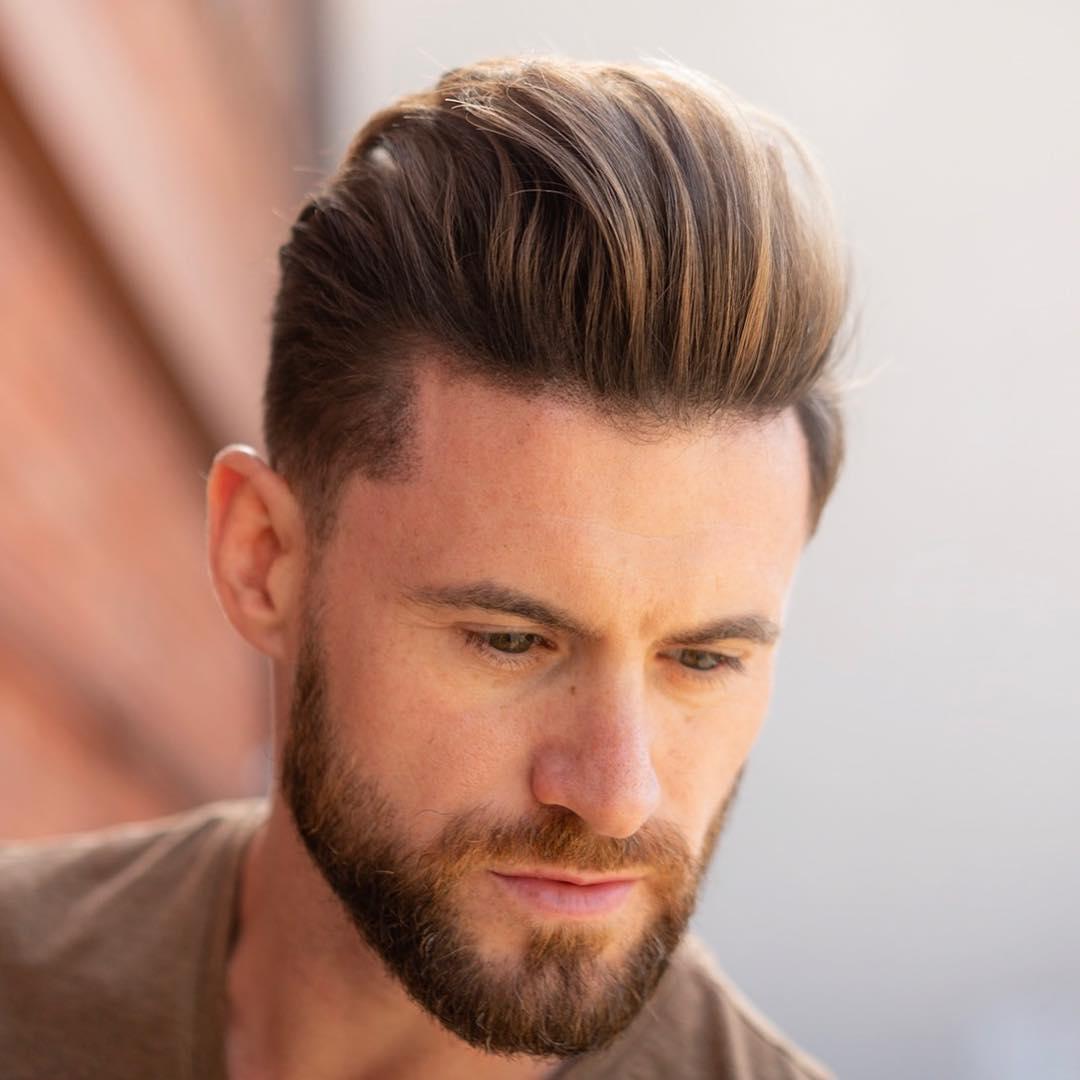 Tóc phù hợp với nam giới mặt dài