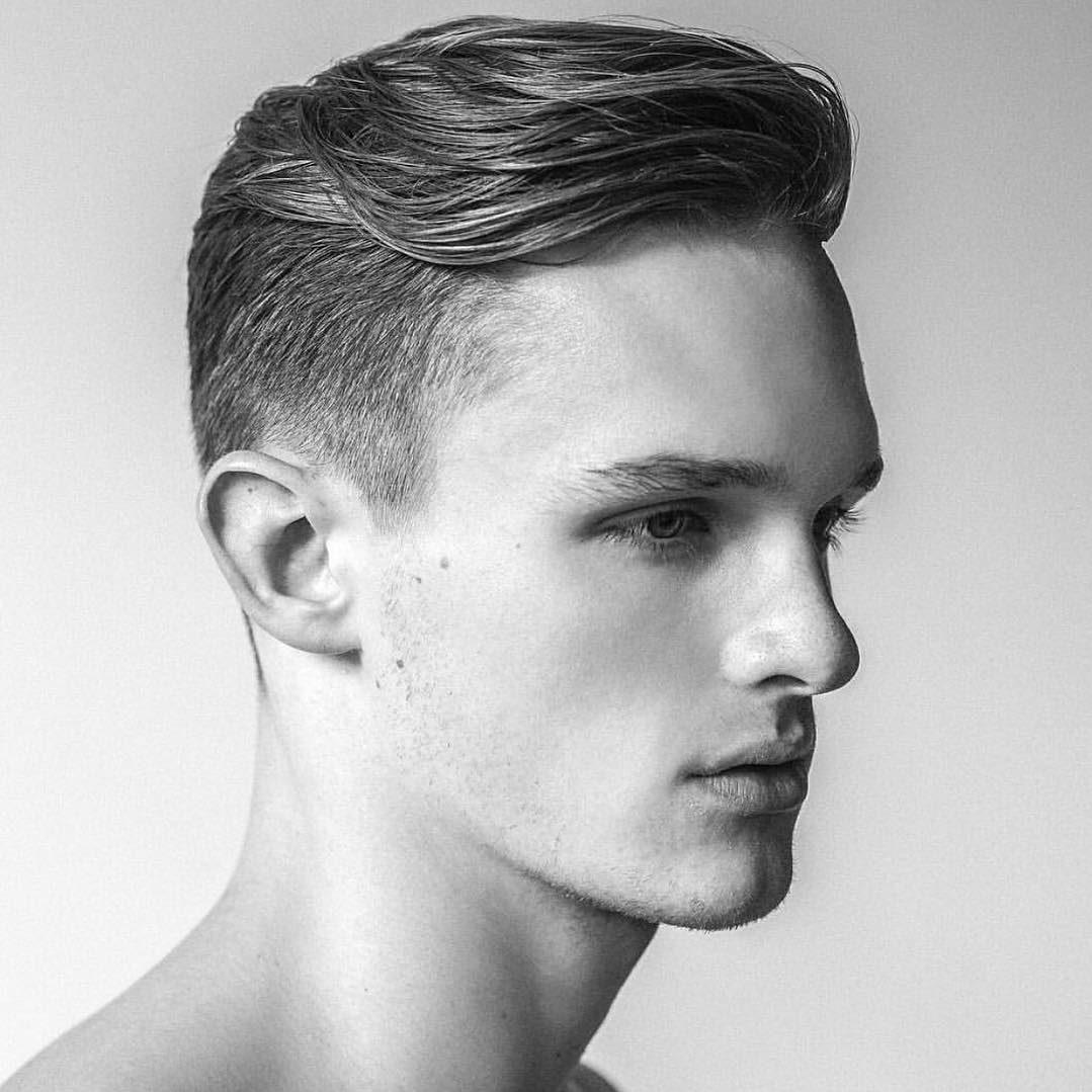 Tóc undercut dành cho nam mặt dài