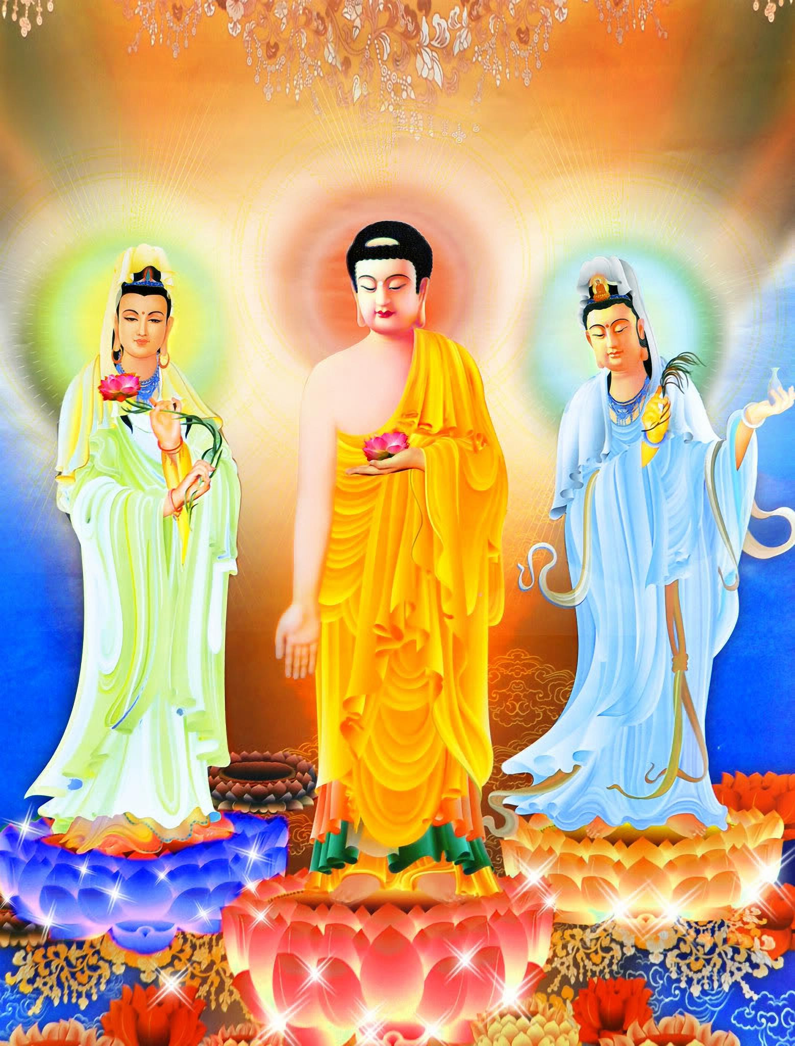 Ảnh đẹp về Phật như Lai và bồ tát