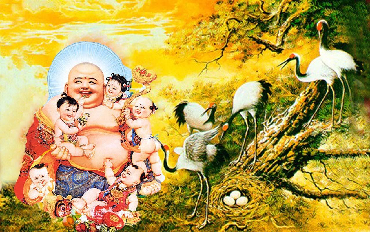 Hình ảnh đẹp nhất về Đức Phật Di Lặc