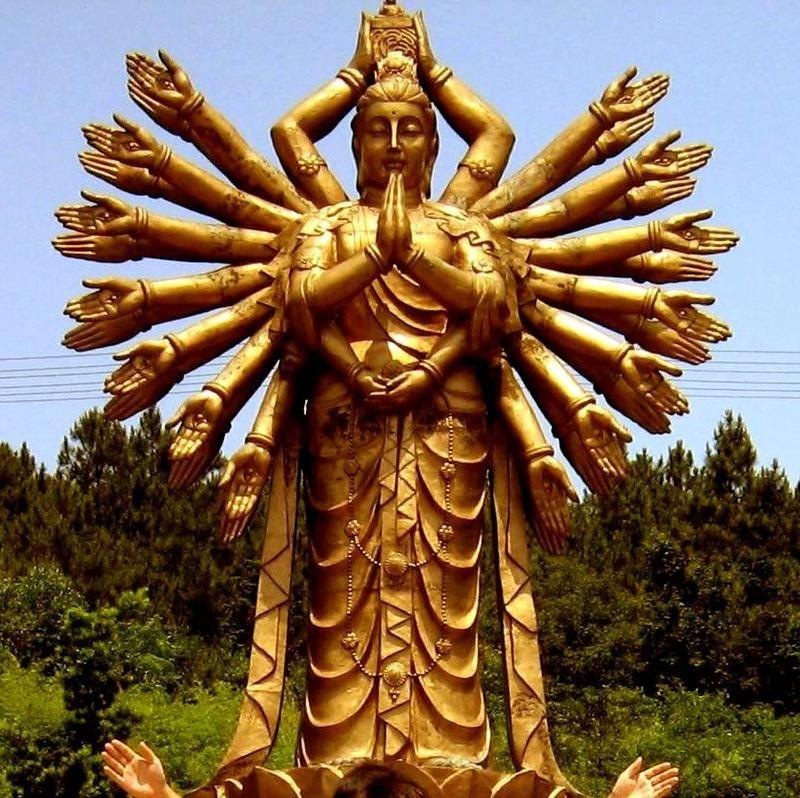 Hình ảnh Phật nghìn mắt nghìn tay đẹp nhất