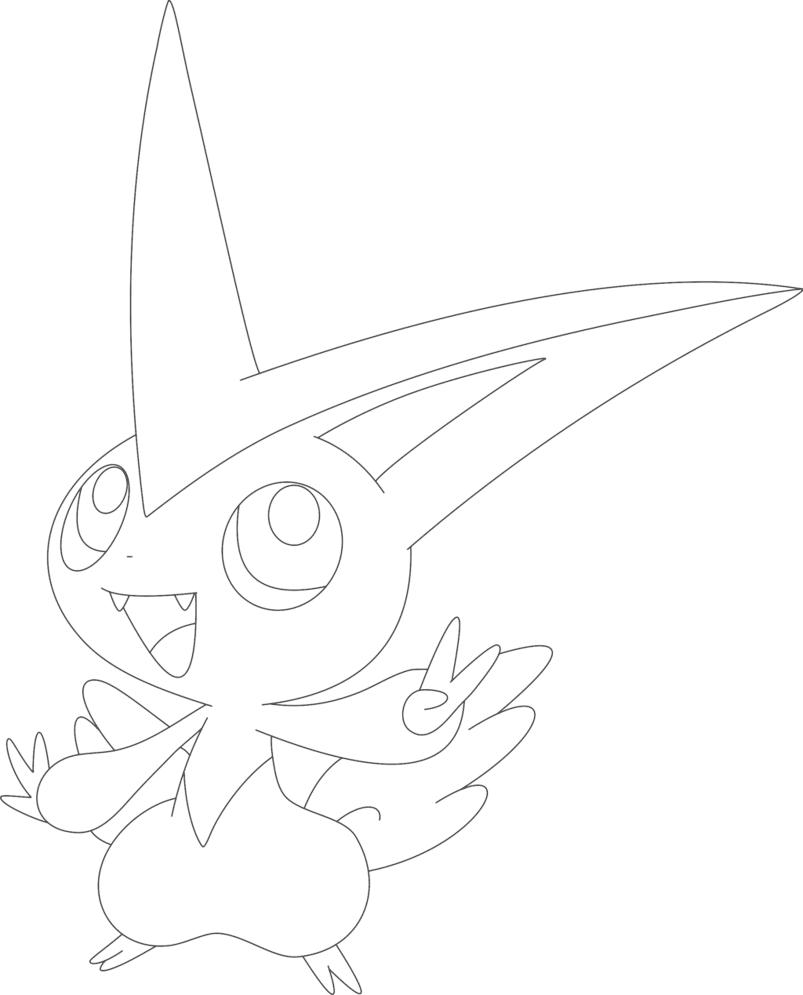 Hình ảnh tranh tô màu Pokemon