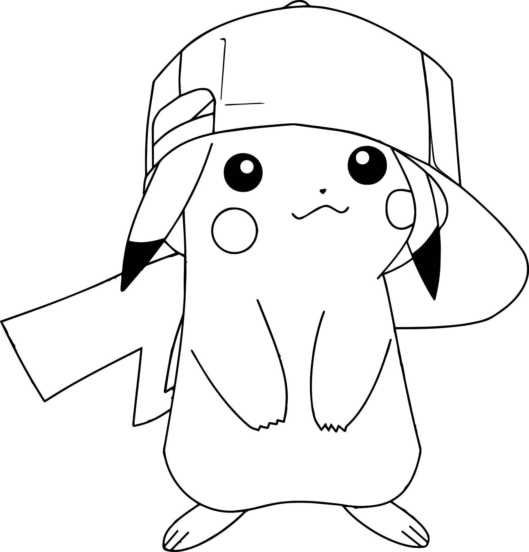 Hình Pokemon tranh tô màu đẹp