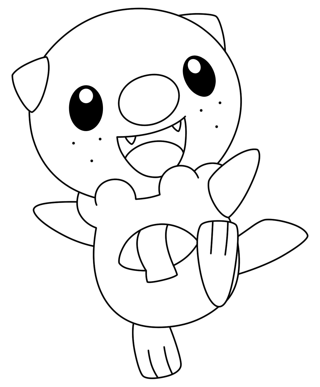 Hình tranh tô màu pokemon cho bé đẹp nhất