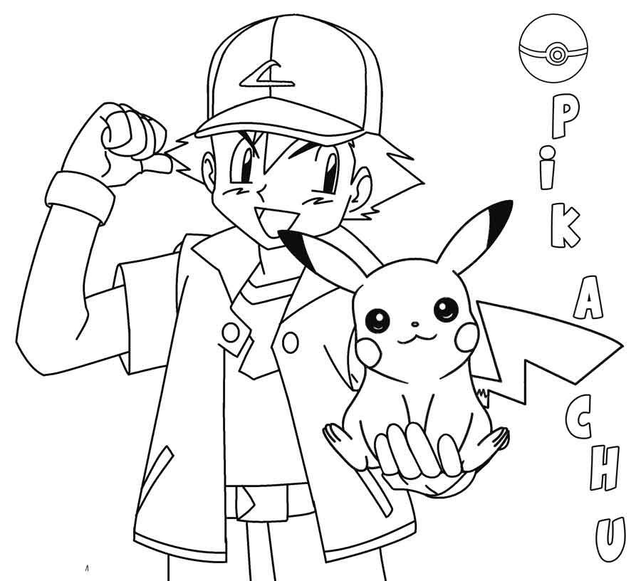 Kiểu tranh tô màu pokemon đẹp nhất cho bé