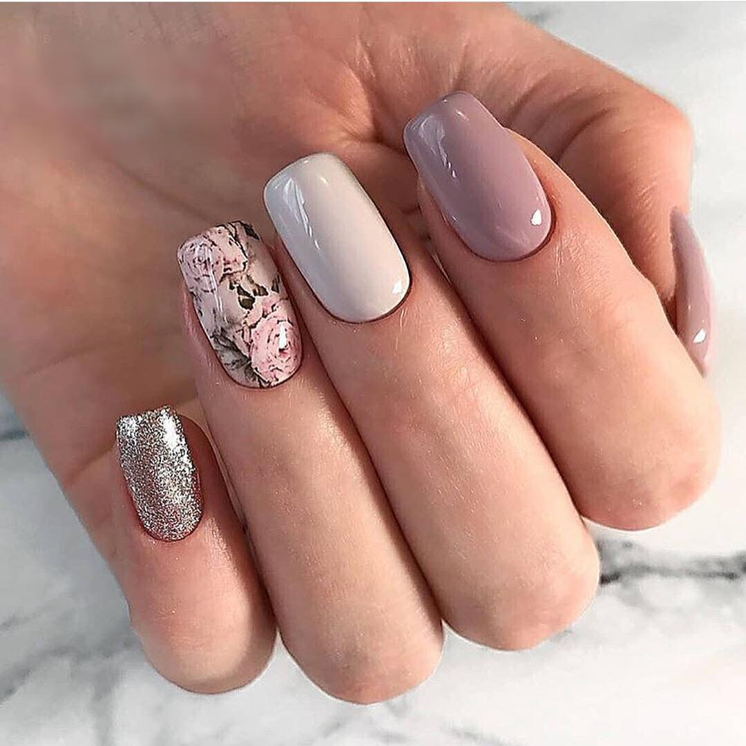 Mẫu nail cute dễ thương đẹp nhất
