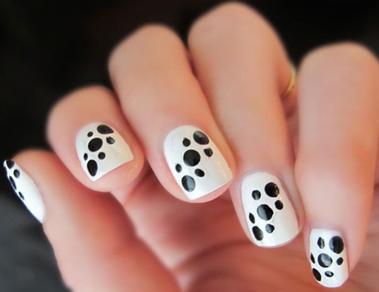 Mẫu nail đẹp đơn giản dễ thương