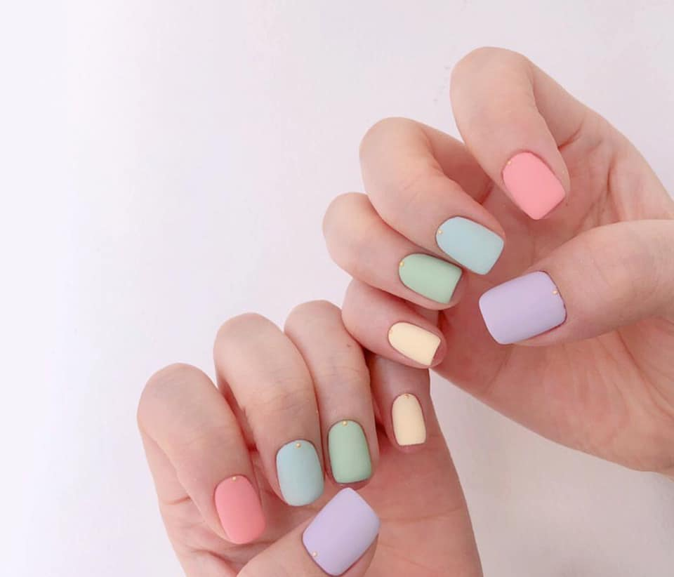 Mẫu nail đơn giản dễ thương chào hè đẹp nhất